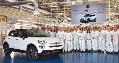 Fiat 500X da record: prodotta la 500millesima unità a Melfi