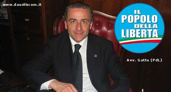 Avv. Gatta - Consigliere Regionale - Popolo della Libertà - www.dauniacom.it