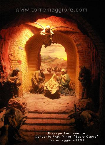Presepe permanente del Convento Sacro Cuore dei Frati Minori di Torremaggiore (Fg)