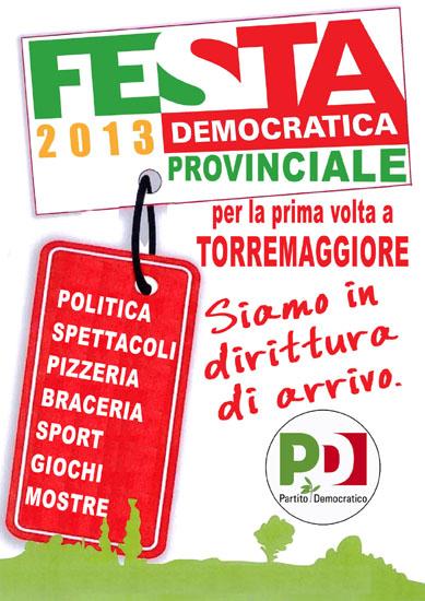 Festa Democratica 2013