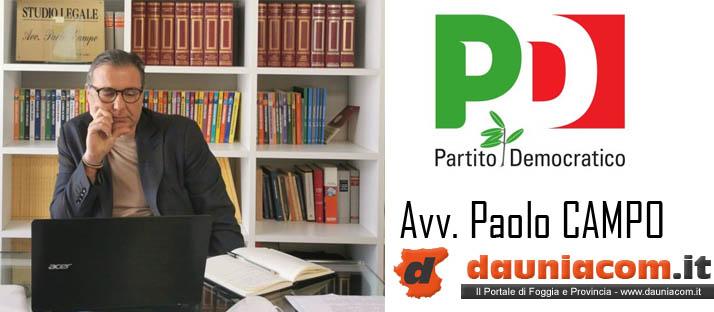 Paolo Campo (PD): a Roseto Valfortore si attua un modello sostenibile di autoproduzione estensibile a tutte le piccole comunità pugliesi con il sostegno della Regione