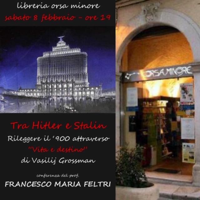 Conferenza del Prof. Francesco Maria Feltri ospite della Libreria Orsa Minore di San Severo