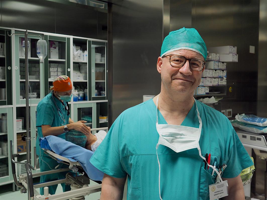 Il chirurgo senologo dell'Ospedale  Casa Sollievo della Sofferenze Luigi Ciuffreda è tra i finalisti del Premio Laudato Medico intitolato ad Umberto Veronesi