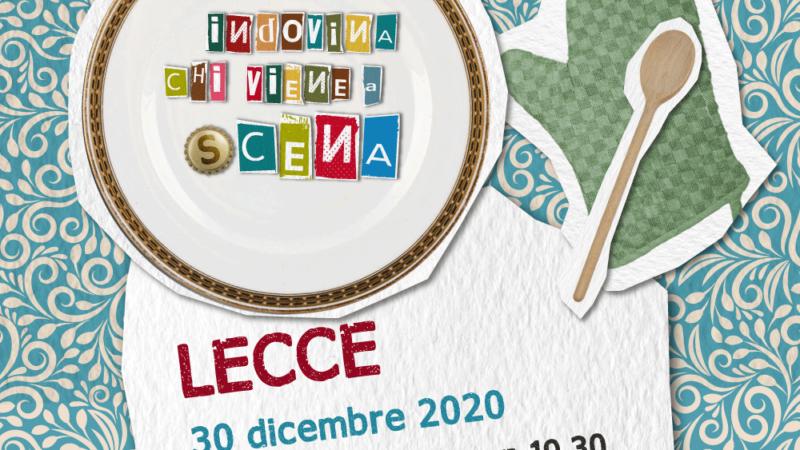 Indovina chi viene a (s)cena: si parte il 30 dicembre 2020 con Teatro Pubblico Pugliese