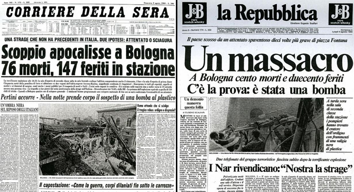 Bologna, 2 Agosto 1980: la morte si ferma in stazione!