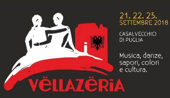 Vëllazëria,  Festa della Fratellanza a Casalvecchio di Puglia dal 21 al 23 settembre 2018