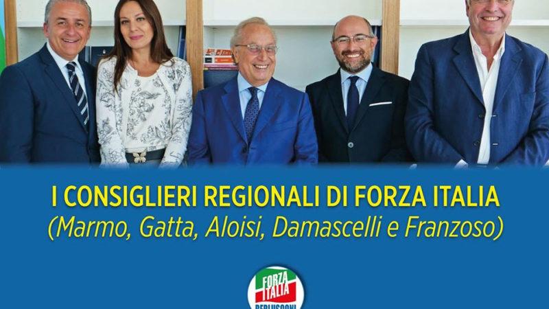 Elezioni regionali, Gruppo Forza Italia: centrodestra non si faccia trovare impreparato, serve subito il candidato presidente