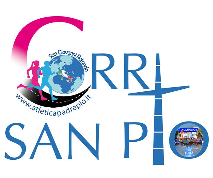 Torna la Corri San Pio il 29 agosto 2015 a San Giovanni Rotondo (Fg), ecco i dettagli per l'iscrizione