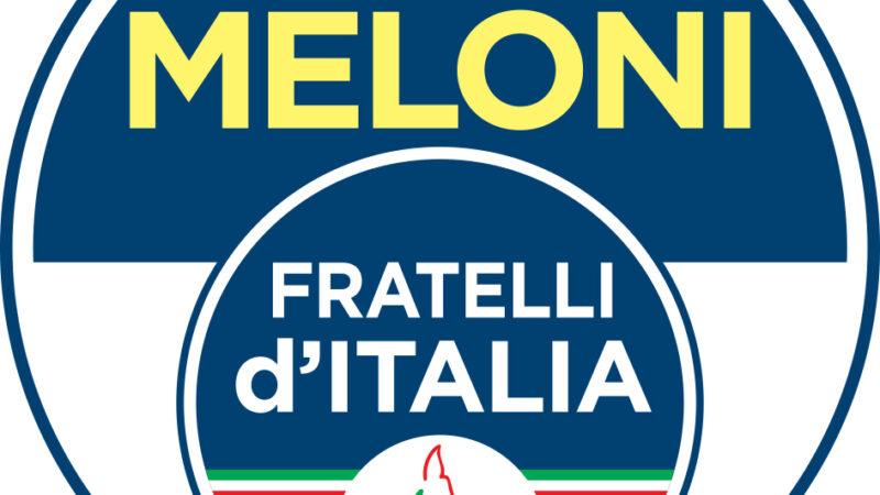 COVID PUGLIA, FRATELLI D'ITALIA: BENE CHE FORZA ITALIA SI SIA UNITA ALLA NOSTRA RICHIESTA DI COMMISSARIAMENTO. ORA CONVINCERE DRAGHI