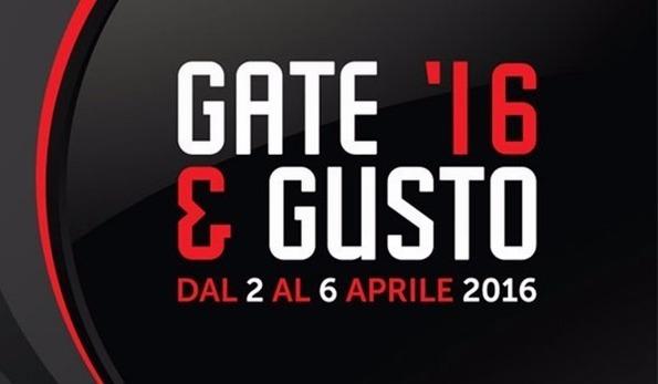 GATE & Gusto dal 2 al 6 aprile 2016