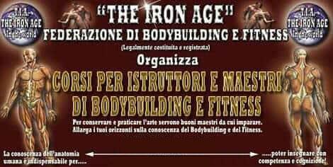 Corsi per Istruttori e Maestri di Body Building e Fitness TIAF