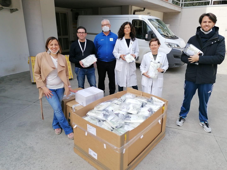 Rosa Barone (M5S) ha consegnato all'ASL Fg i kit di protezione per i medici della guardia medica