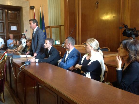 Al via il mandato di Franco Landella a Foggia,presentata la giunta che amministrerà il capoluogo dauno