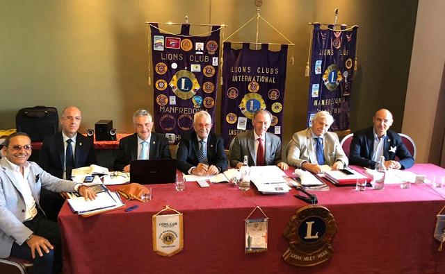 A Manfredonia riuniti i Club LIONS del Gargano per la visita del governatore Distretto Puglia
