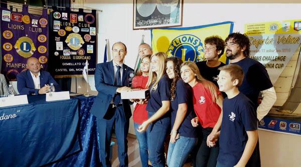 REGATA DAUNIA CUP LIONS: vince l'imbarcazione Rats on fire con equipaggio i ragazzi della scuola di vela della Lega Navale di Manfredonia