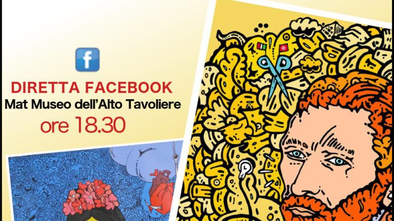 Il MAT incontra Massimo Pasca sabato 21 novembre, alle ore 18.30 sulla pagina Facebook del MAT Museo dell'Alto Tavoliere