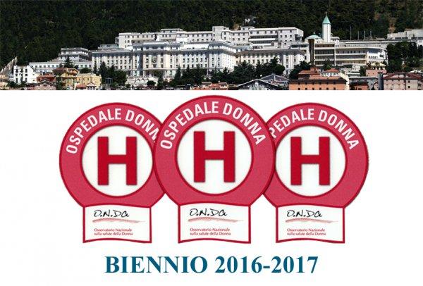 Riconfermati i tre bollini rosa all'IRCCS Casa Sollievo per l'attenzione dedicata alle patologie femminili
