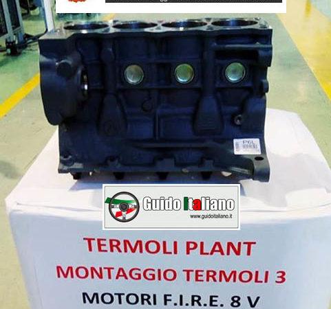 7 maggio 2020: dalla fabbrica motoristica FCA di Termoli esce di scena il motore Fire dopo 35 anni e 23 milioni di motori prodotti